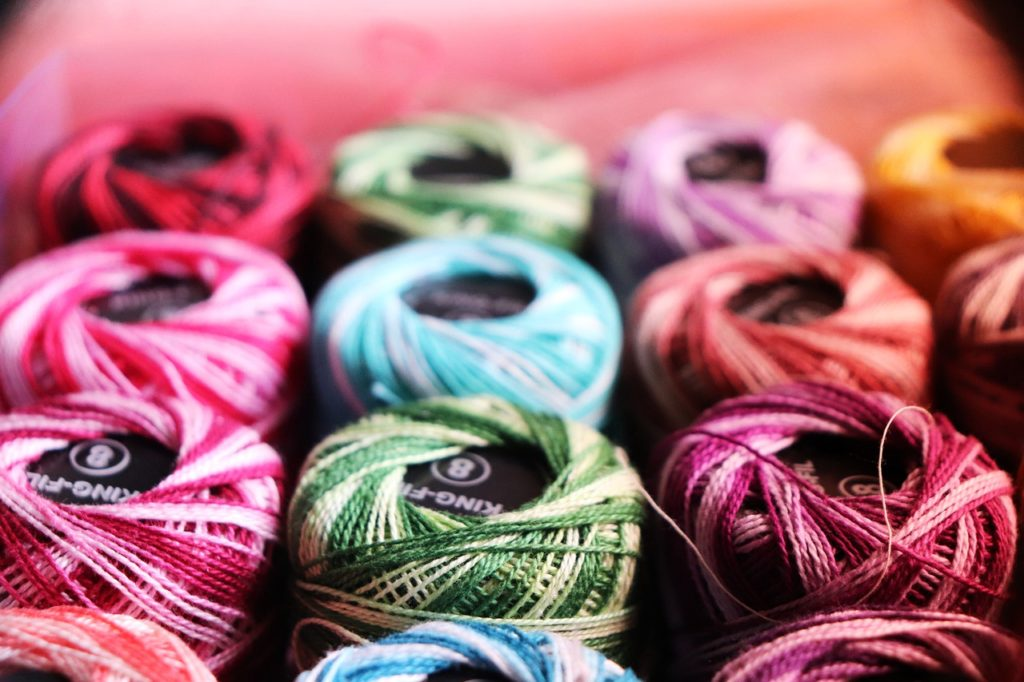thread, colorful, sewing